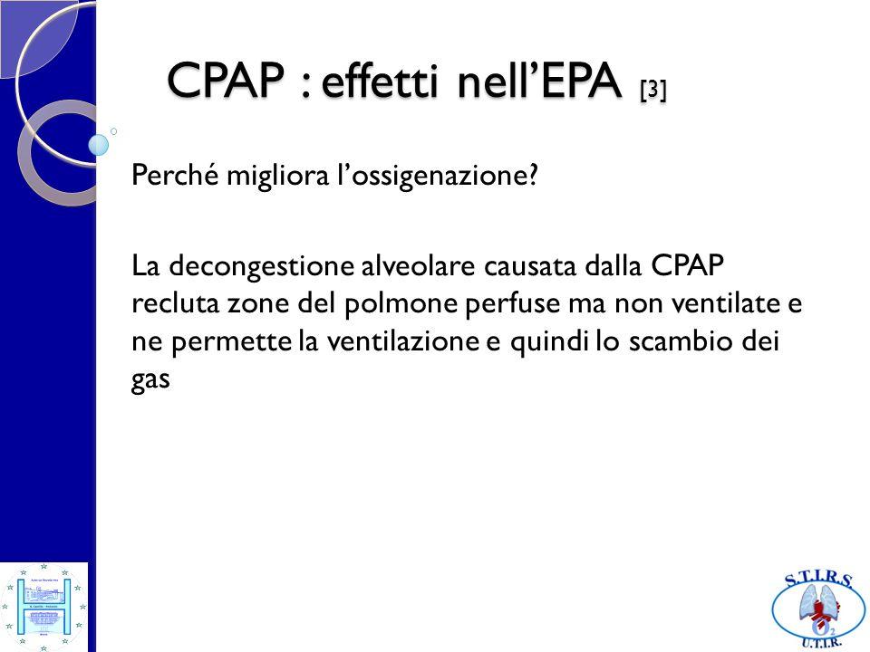 CPAP : effetti nell'EPA [3]